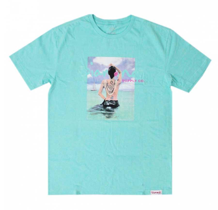 Camiseta Diamond Waist Deep Diamond Blue