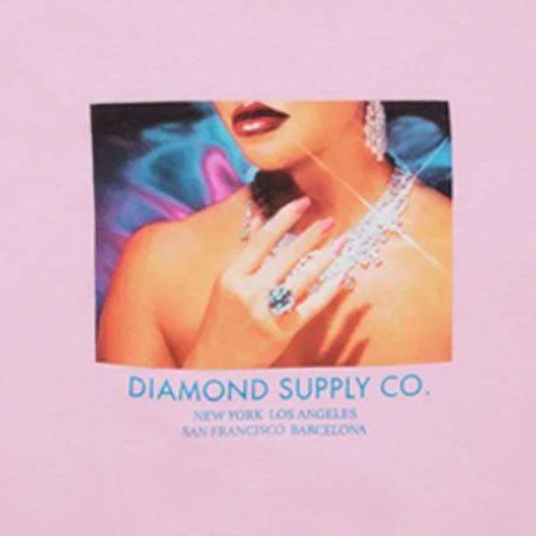 Camiseta Diamond Womens Hand Pink