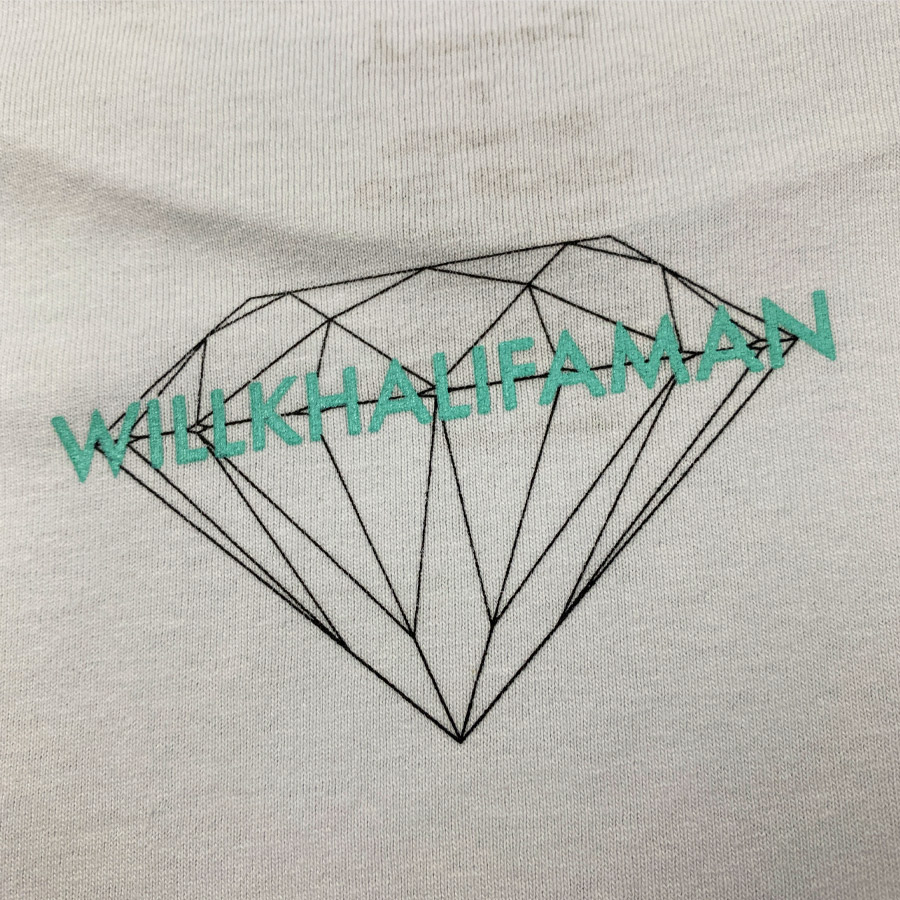 Camiseta Diamond x Willkhalifaman DMND SKY Branco