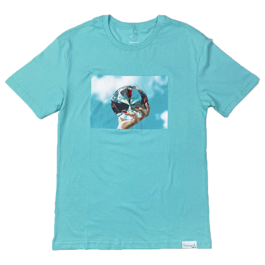Camiseta Diamond x Willkhalifaman DMND SKY Tiffany Blue