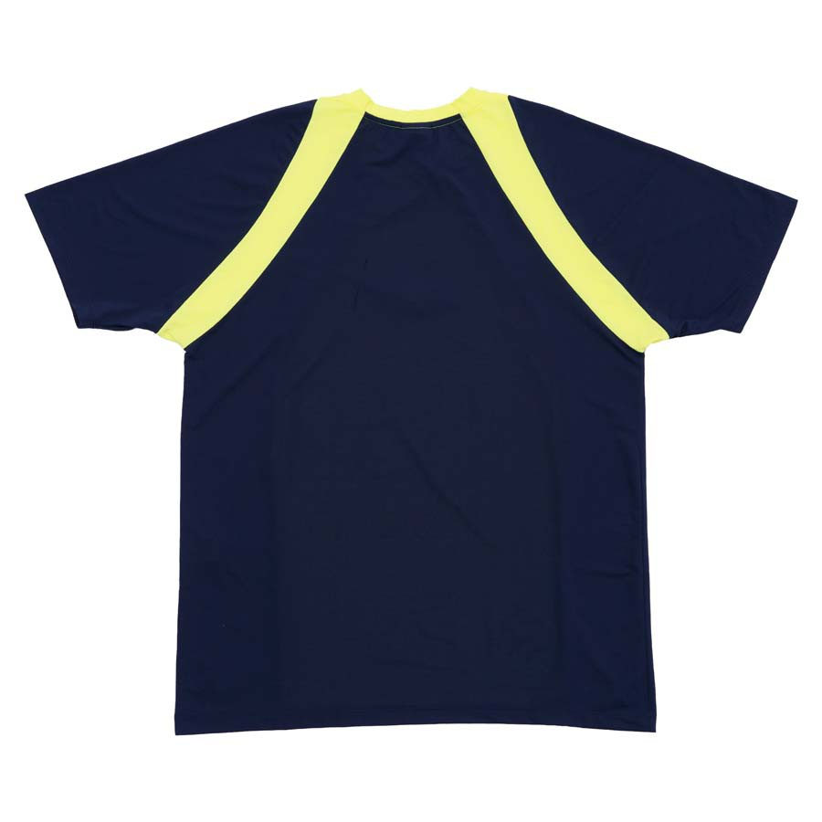 Camiseta High Dry fit Tee Lit Navy/Lime