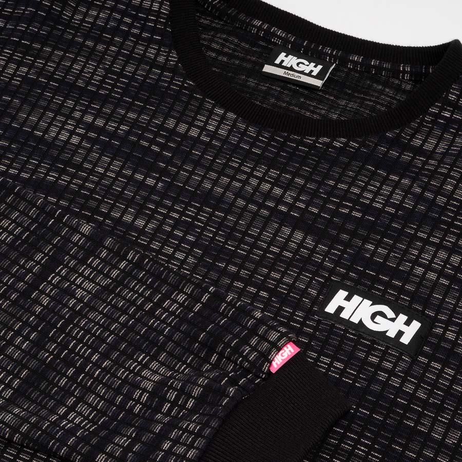 Camiseta High Jacquard Longsleeve Kidz Black