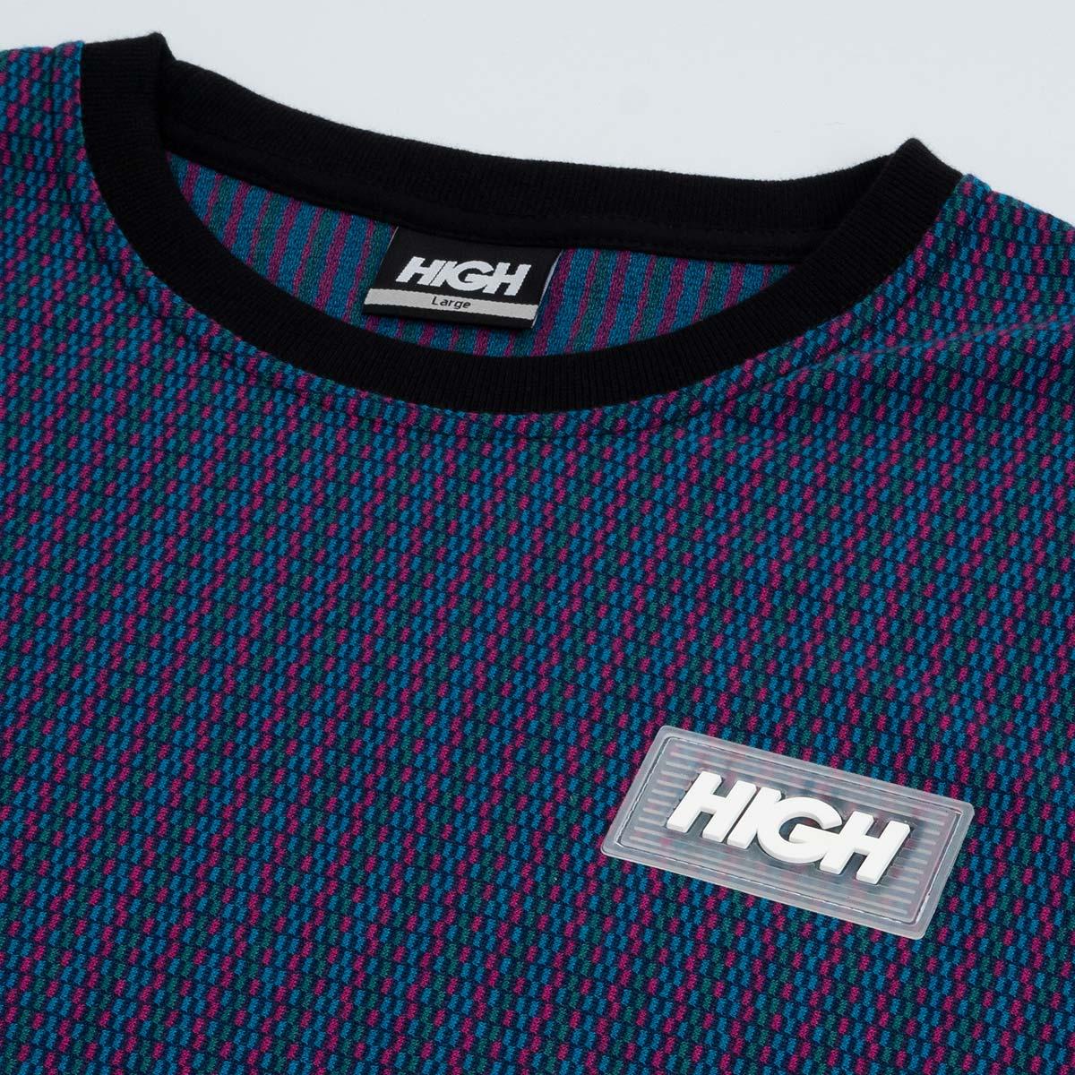 Camiseta High Kinitted Tee Blocks Black