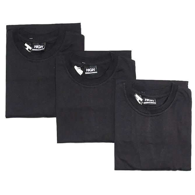 Camiseta High Long Sleeve Pack Black