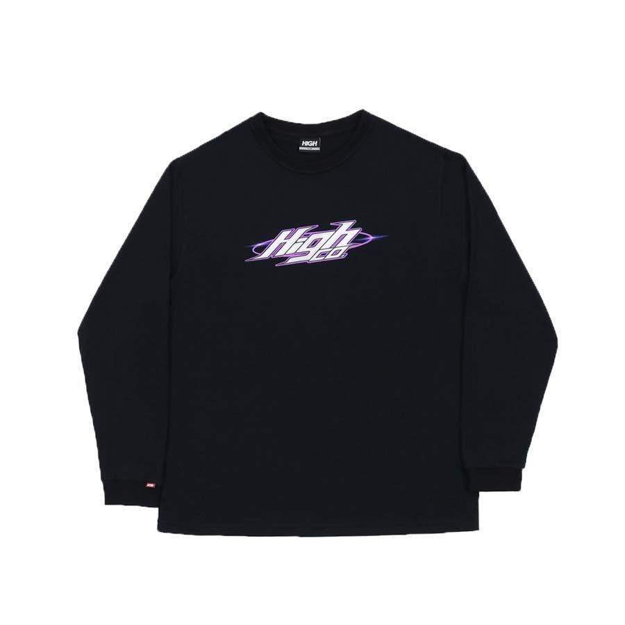 Camiseta High Longsleeve Flare Black