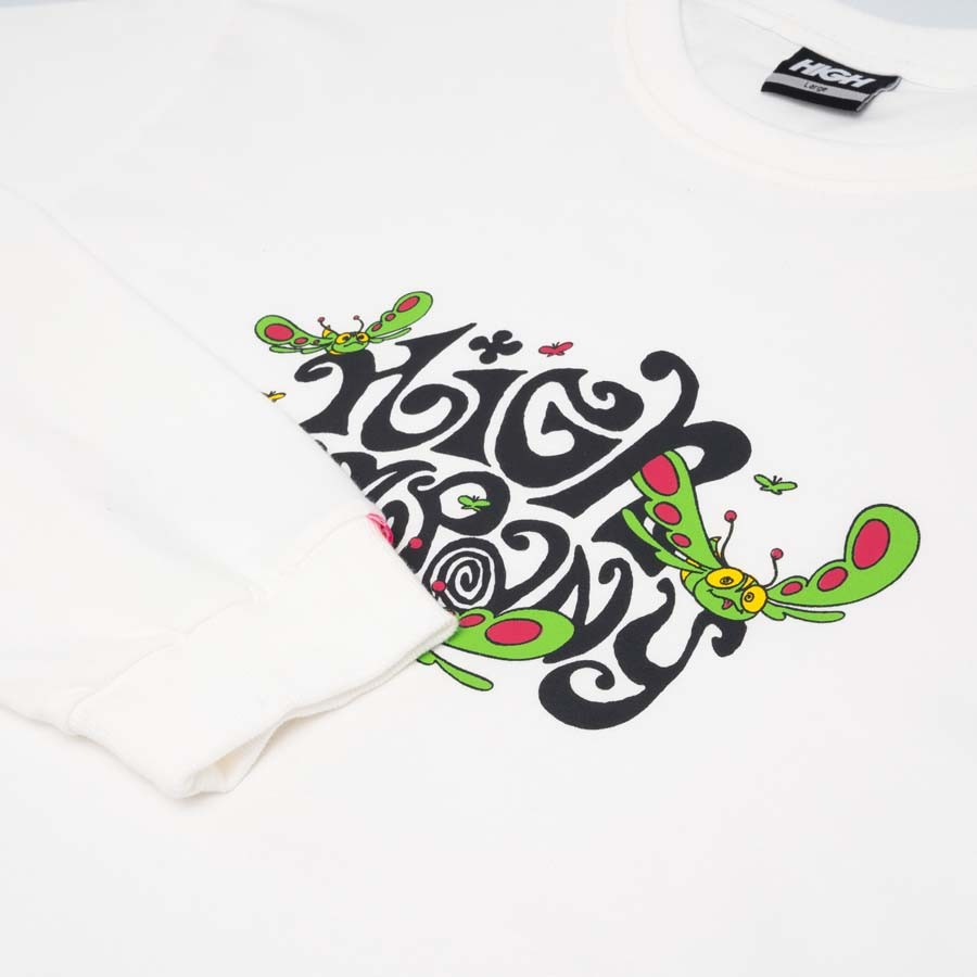Camiseta High Longsleeve Groove White