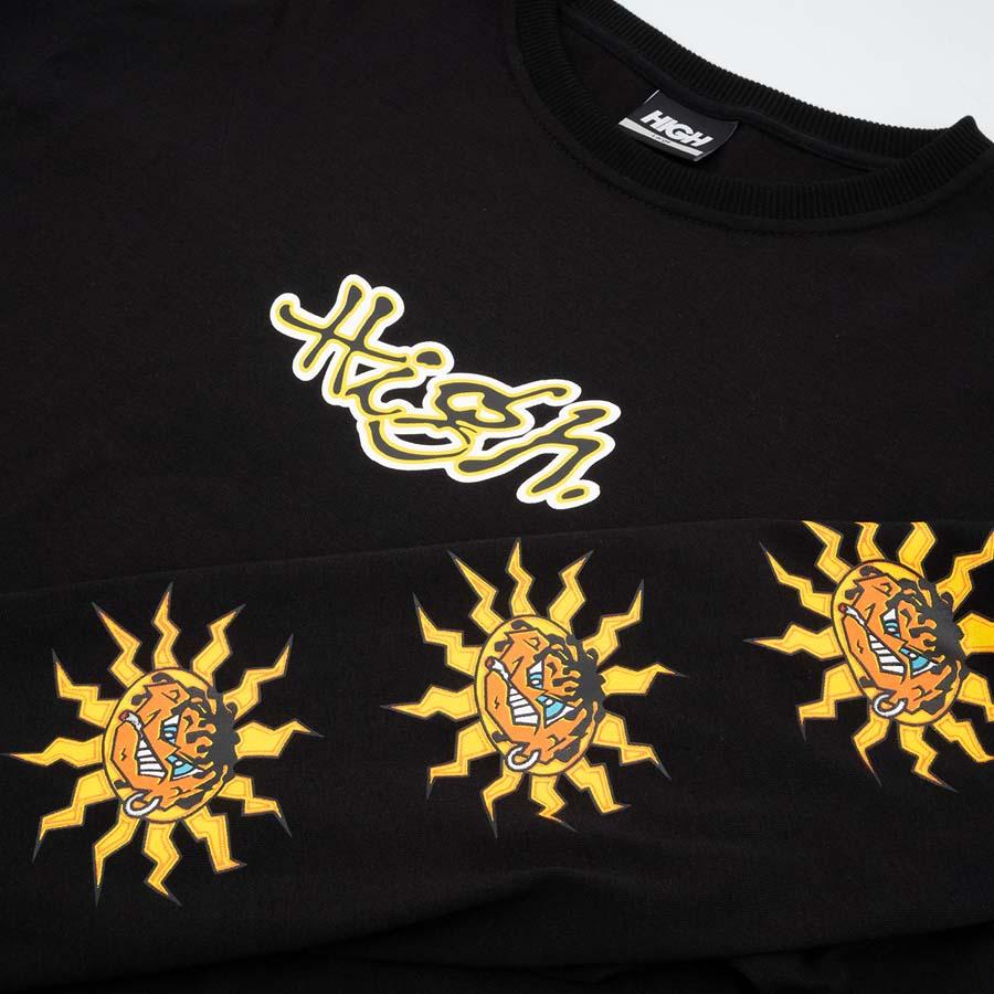 Camiseta High Longsleeve Junglist Black