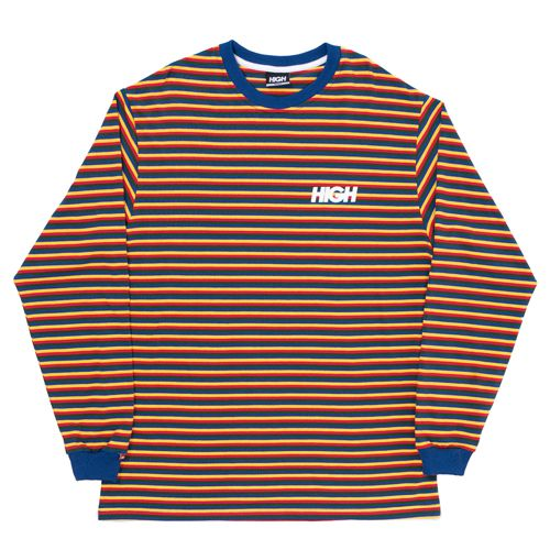 Camiseta High Longsleeve Kidz Navy Red