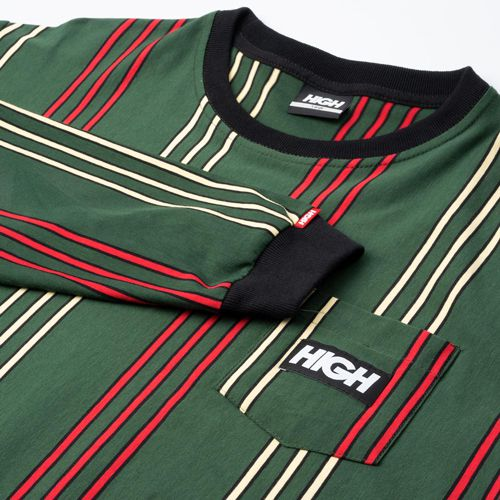 Camiseta High Longsleeve Kidz Vertical Green