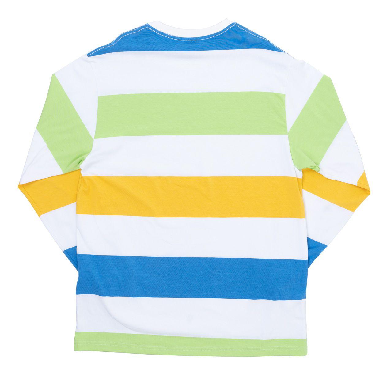Camiseta High Longsleeve Kidz White Lime