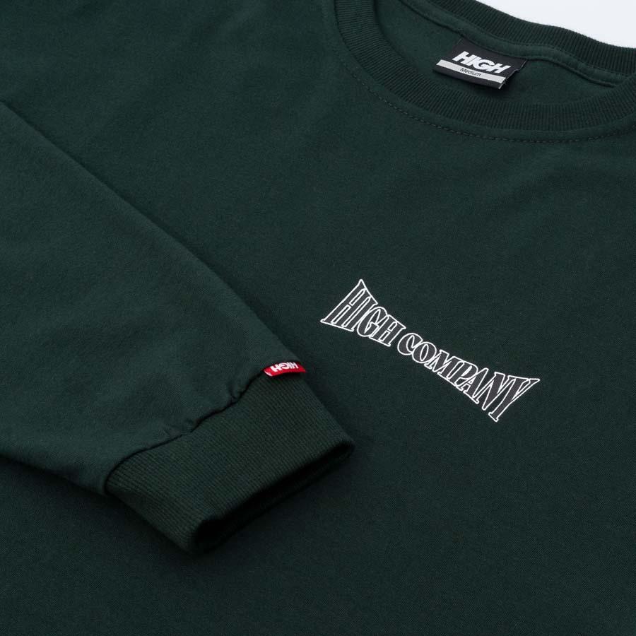 Camiseta High Longsleeve Lobster Night Green