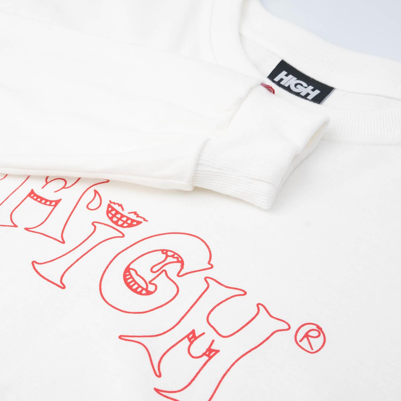 Camiseta HIGH Longsleeve Mood White