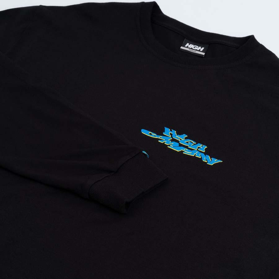 Camiseta High Longsleeve Screwed Black