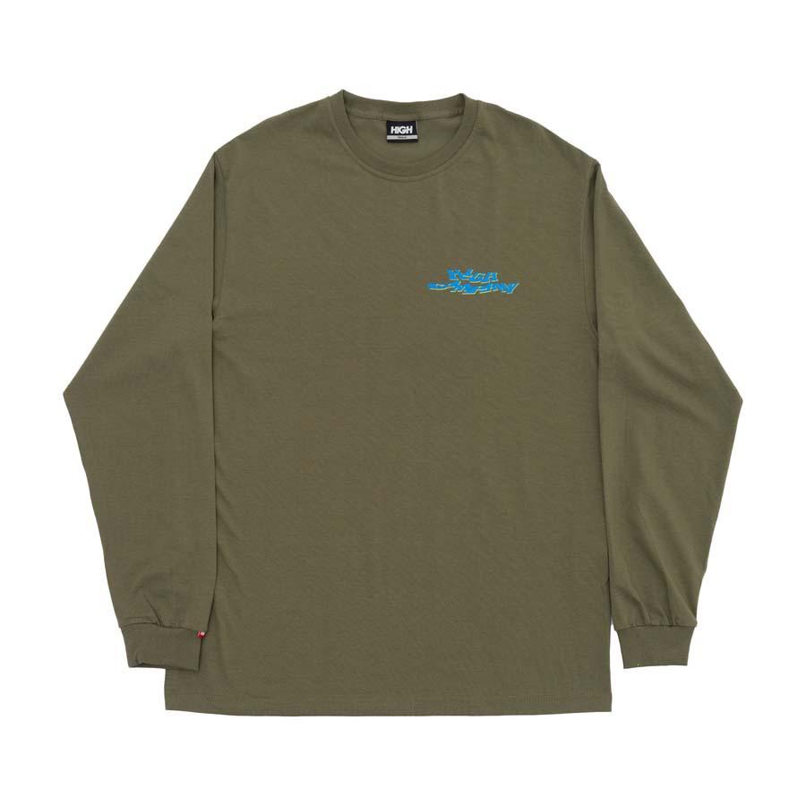 Camiseta High Longsleeve Screwed Desert Green