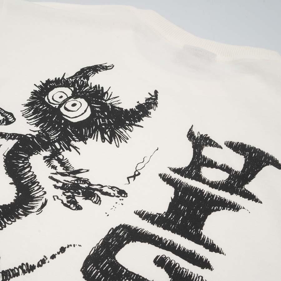 Camiseta High Longsleeve Spike White