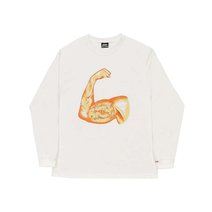 Camiseta High Longsleeve Strength White