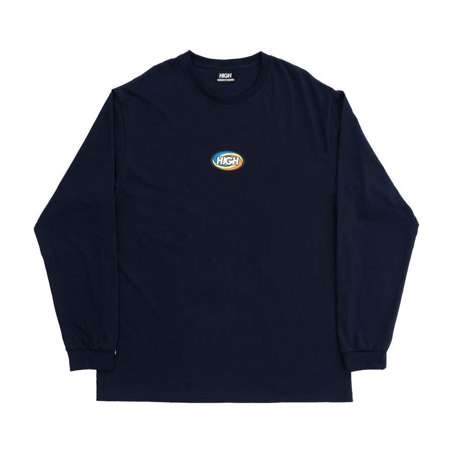 Camiseta High Longsleeve Twist Navy