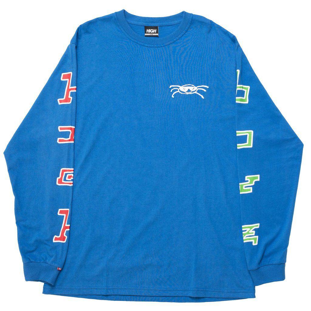 Camiseta HIGH Longsleeve Vírus Blue