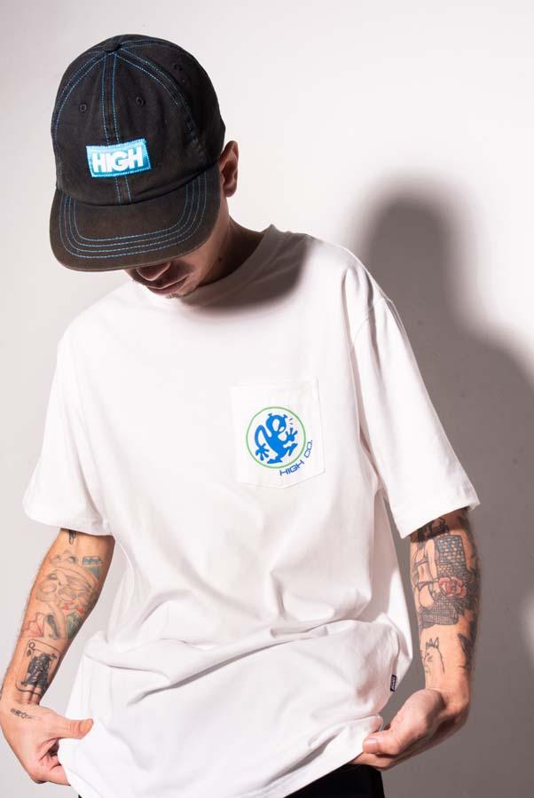 Camiseta High Pocket Tee Outsider White