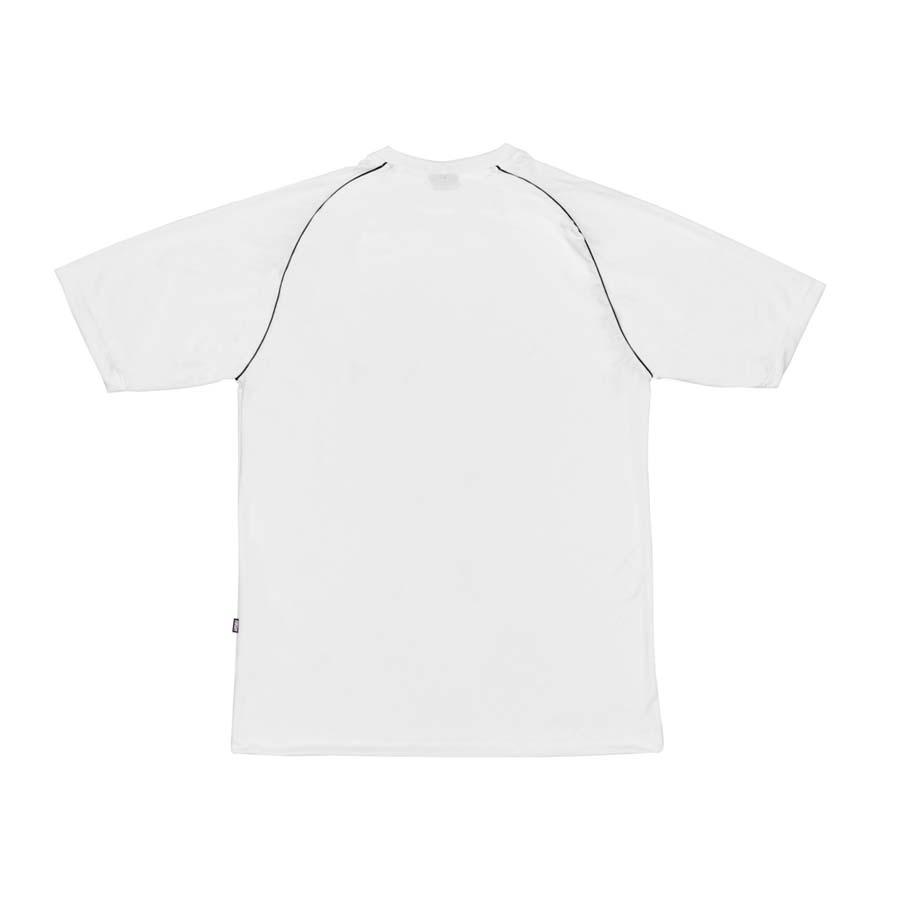 Camiseta High Raglan Tee Logo White