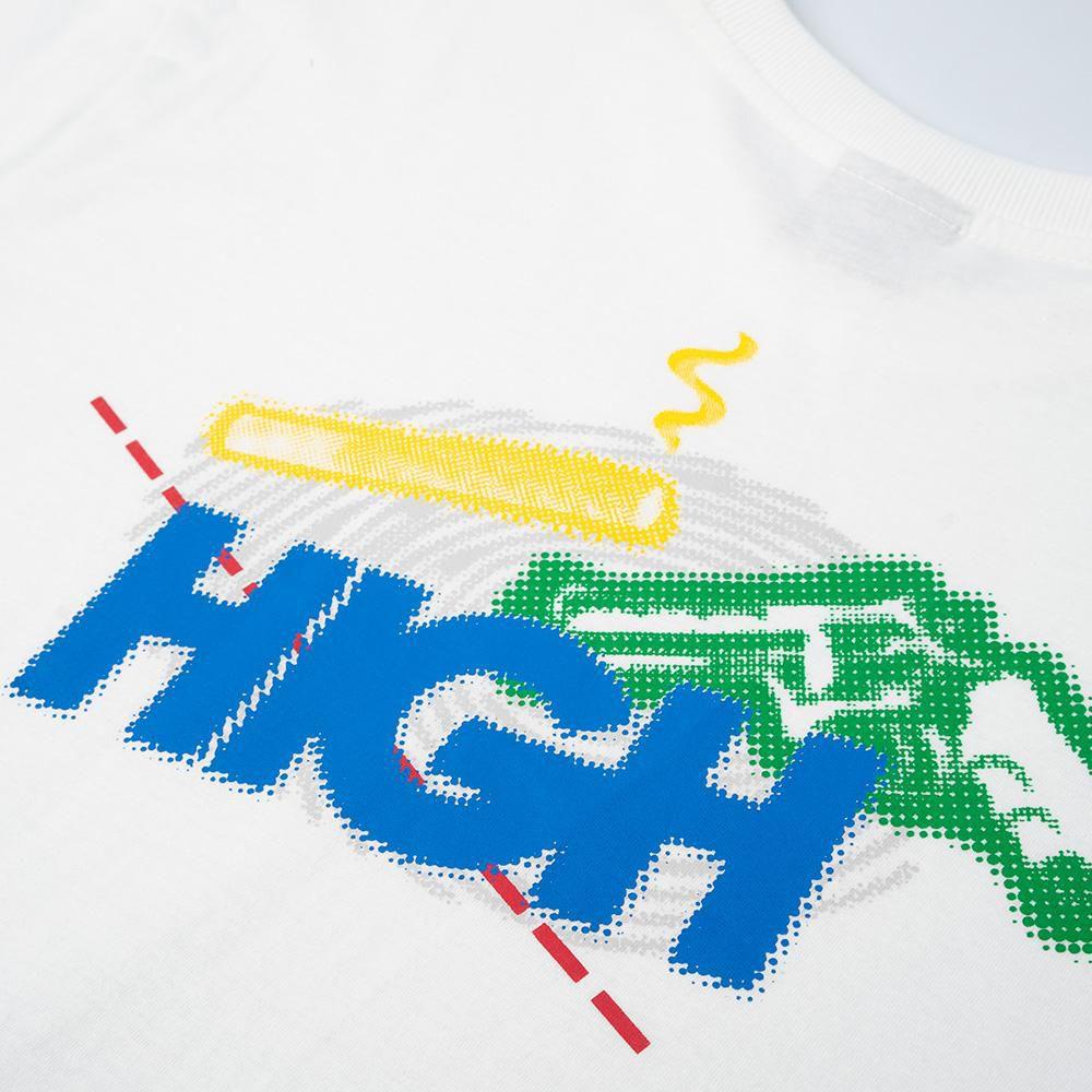 Camiseta HIGH Suspect White