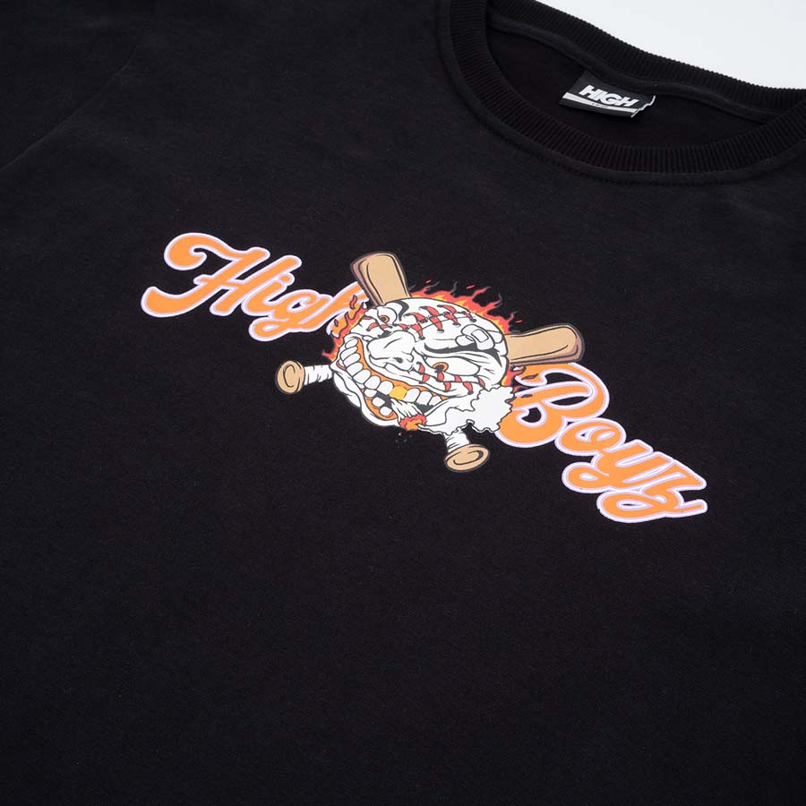 Camiseta High Tee Badball Black