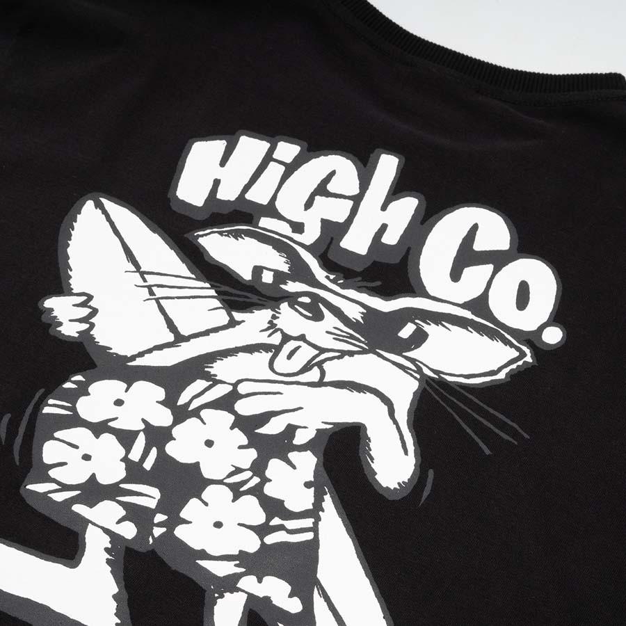 Camiseta High Tee Beach Rat Black