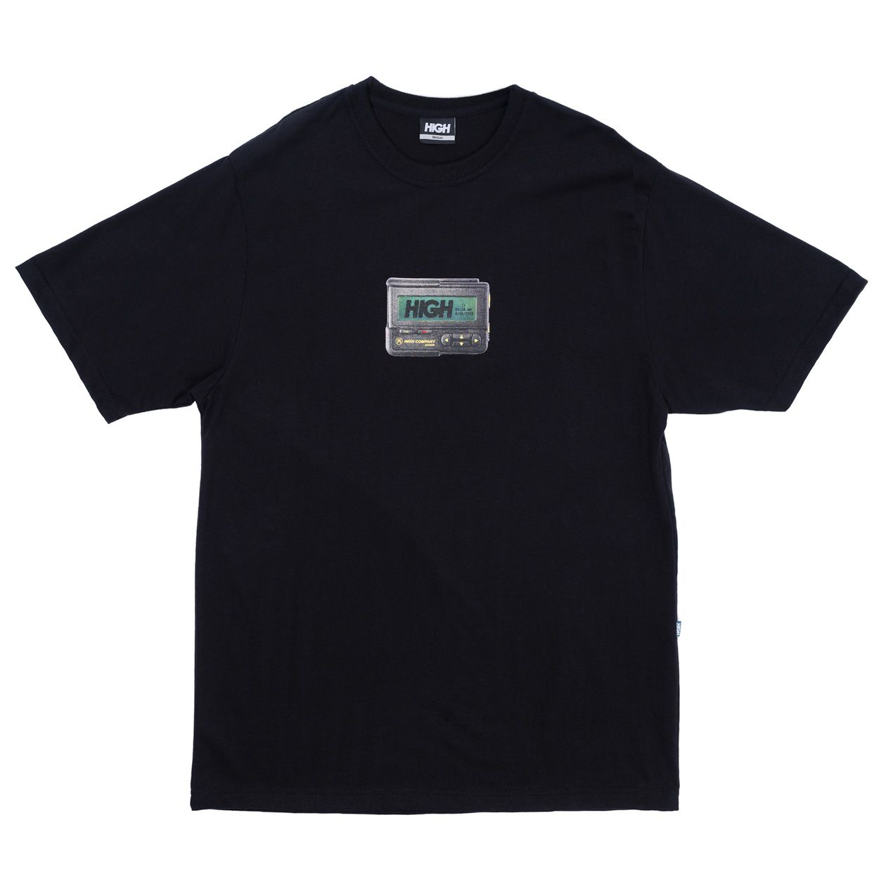 Camiseta High Tee Beeper Black