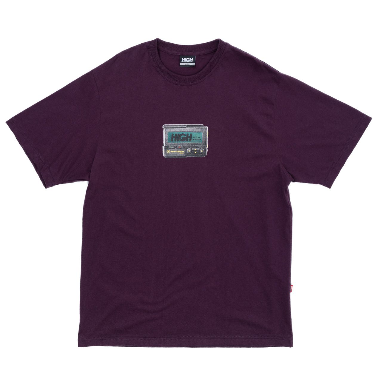 Camiseta High Tee Beeper Purple