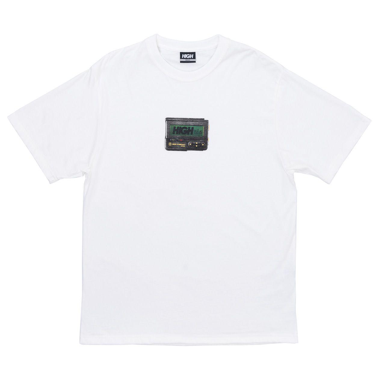 Camiseta High Tee Beeper White