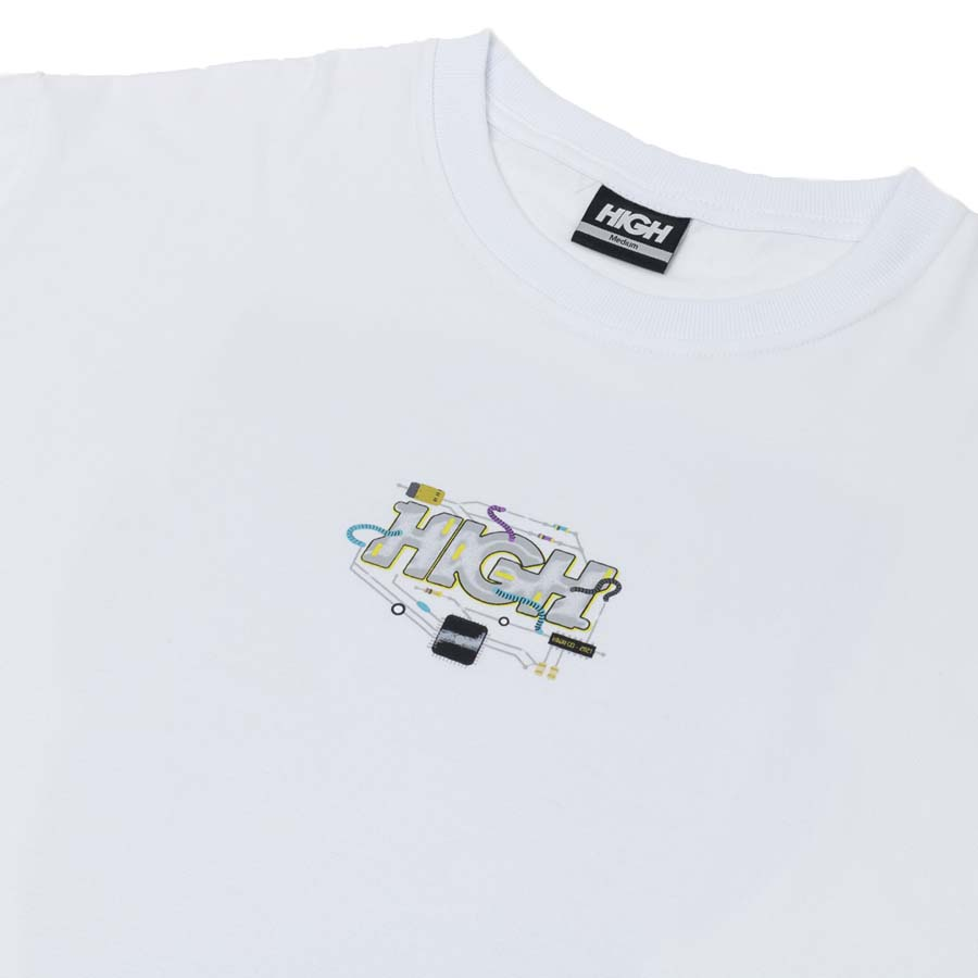 Camiseta HIGH Tee Chip White