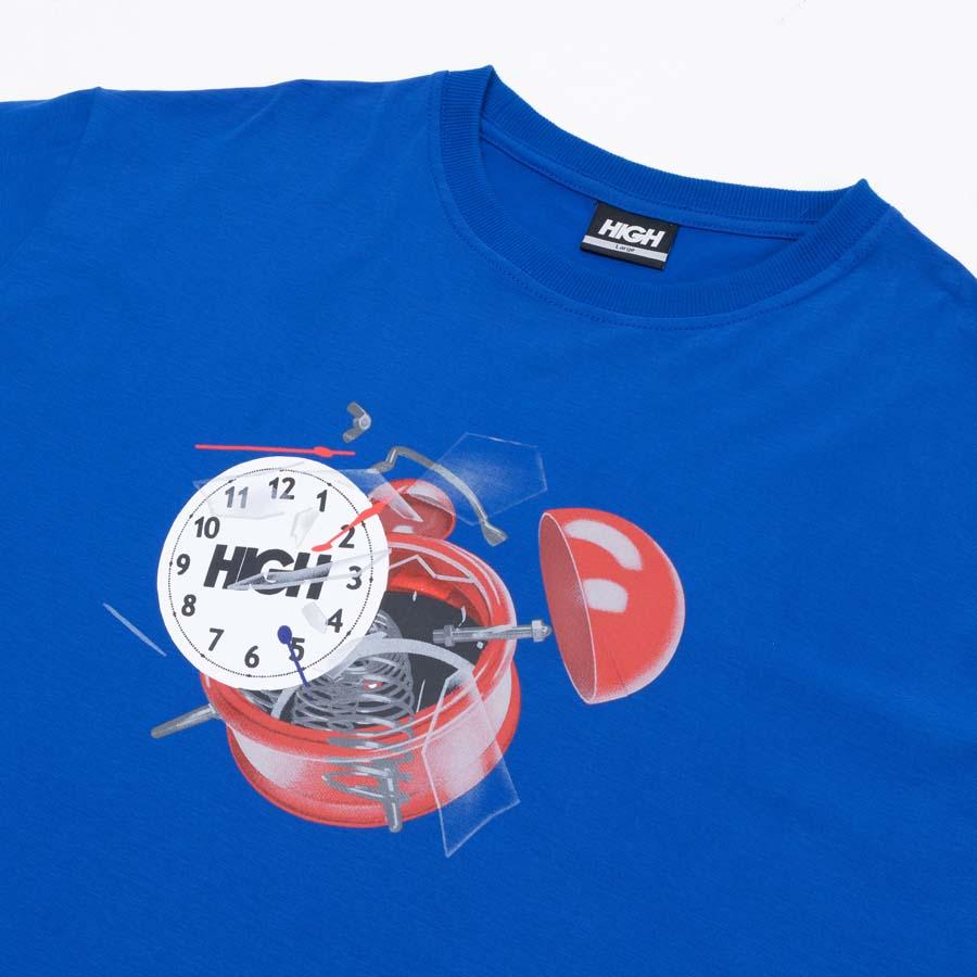 Camiseta High Tee Clock Blue