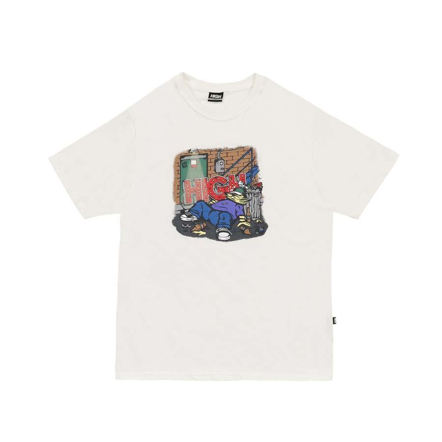Camiseta High Tee Drunk White