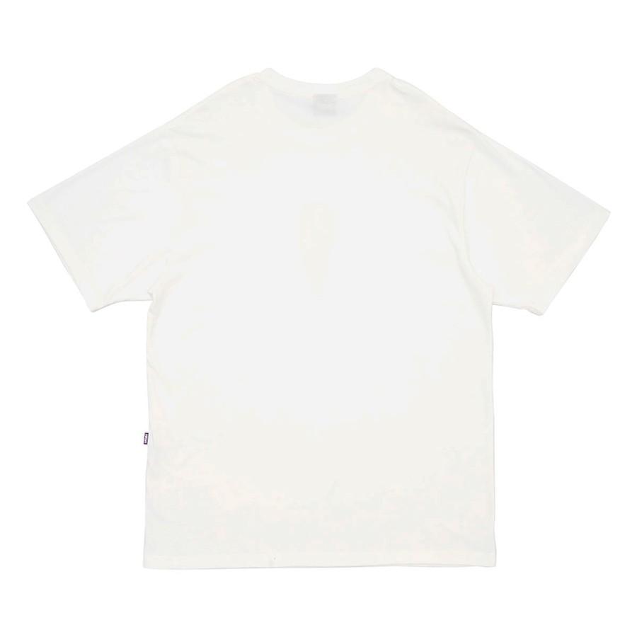 Camiseta High Tee Fire Cream White
