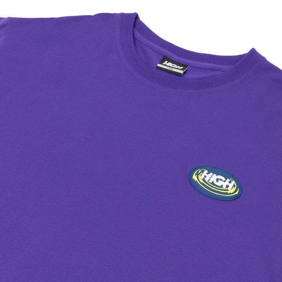 Camiseta HIGH Tee Hypnosis Purple