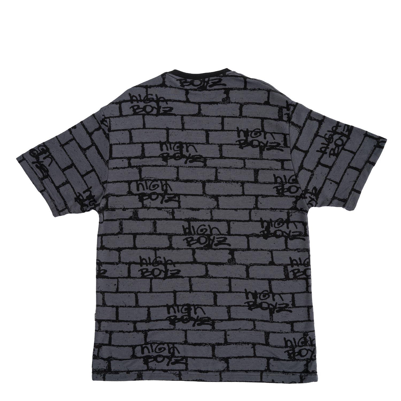 Camiseta High Tee Jacquard Tee Bricks Black