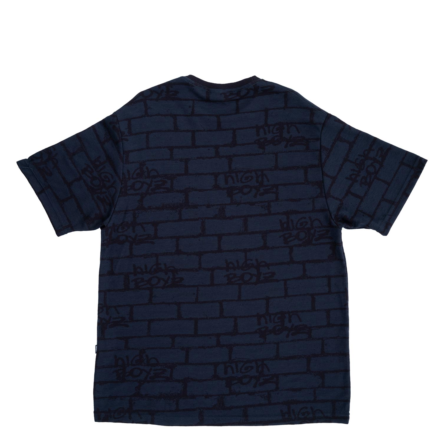 Camiseta High Tee Jacquard Tee Bricks Navy