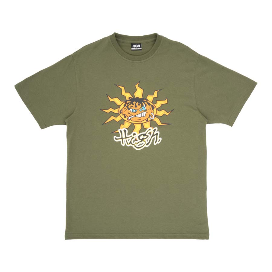Camiseta High Tee Junglist Night Green