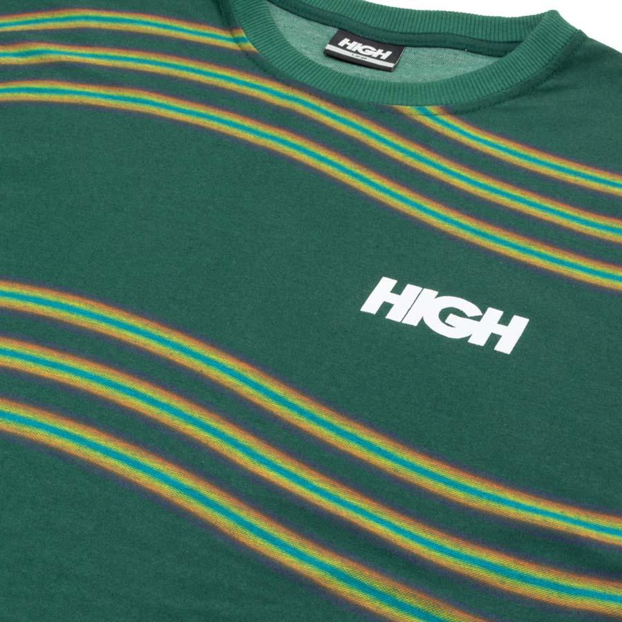 Camiseta High Tee Kidz Wavy Green