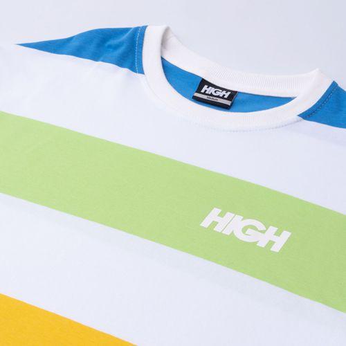 Camiseta High Tee Kidz White Lime