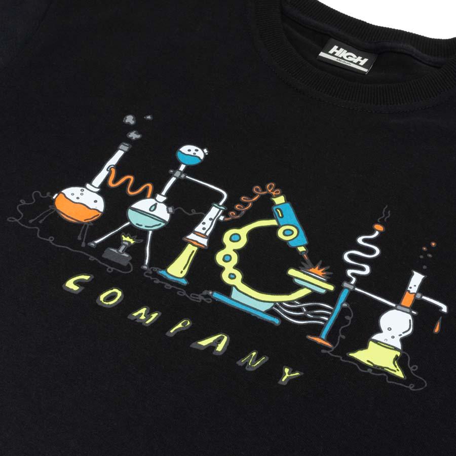 Camiseta High Tee Lab Black