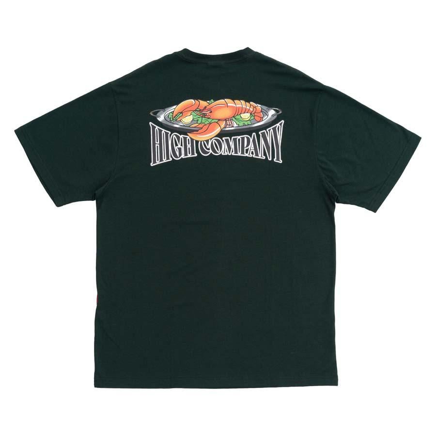 Camiseta High Tee Lobster Night Green