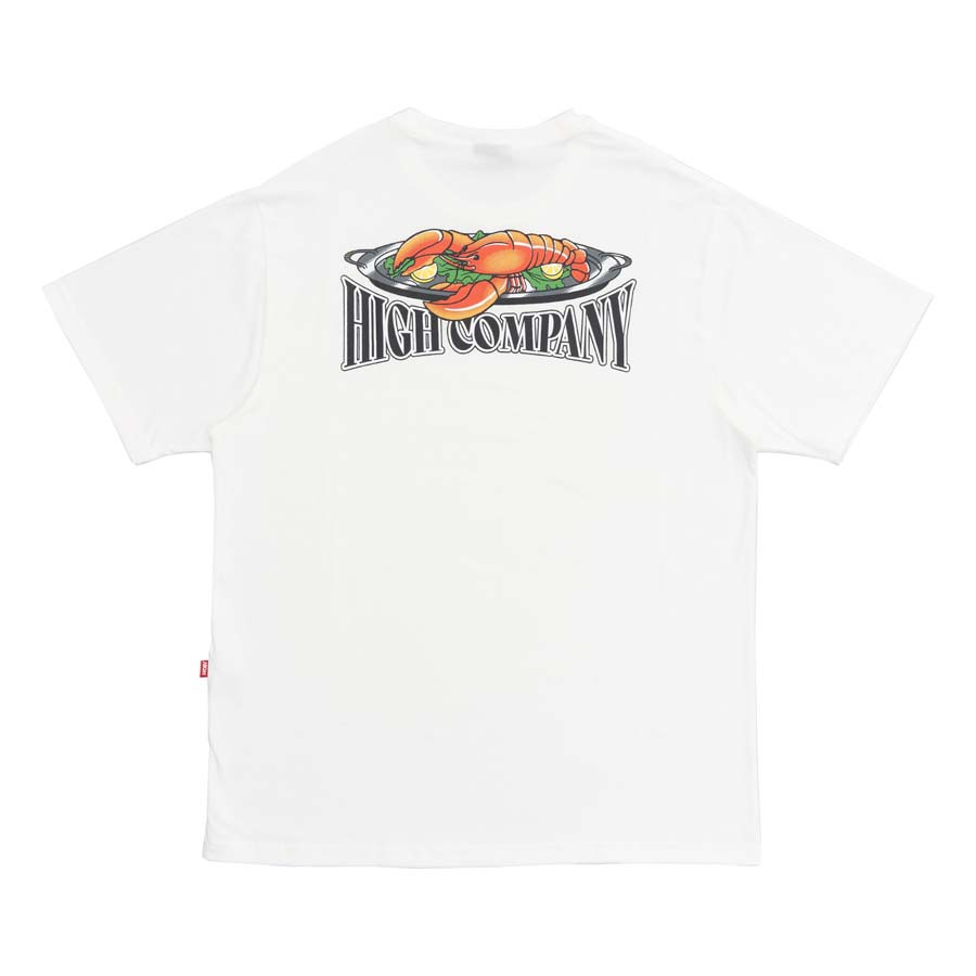 Camiseta High Tee Lobster White
