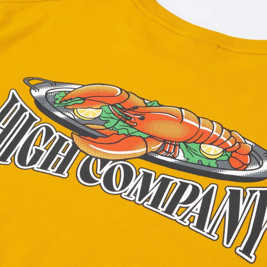 Camiseta High Tee Lobster Yellow