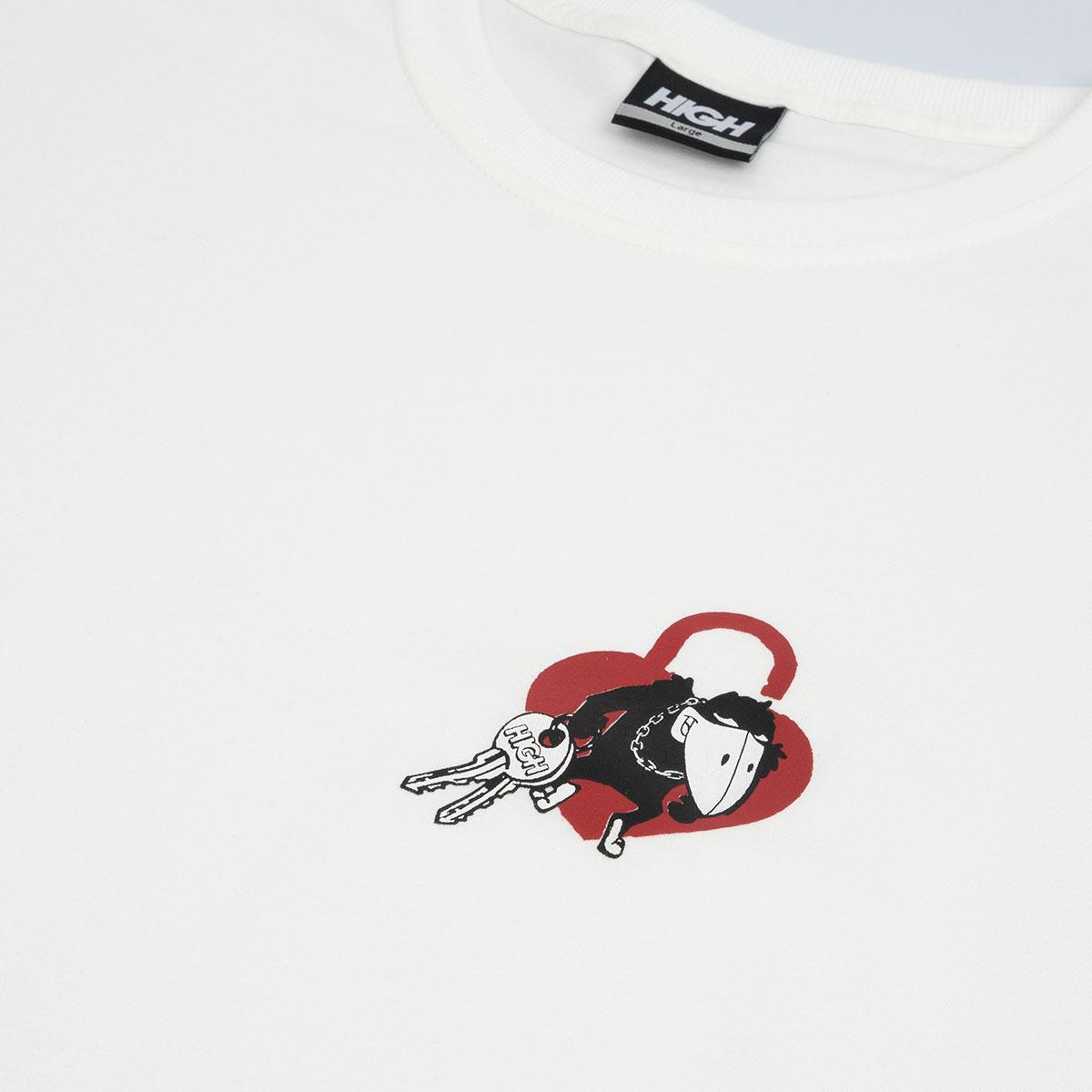 Camiseta High Tee Locksmith White
