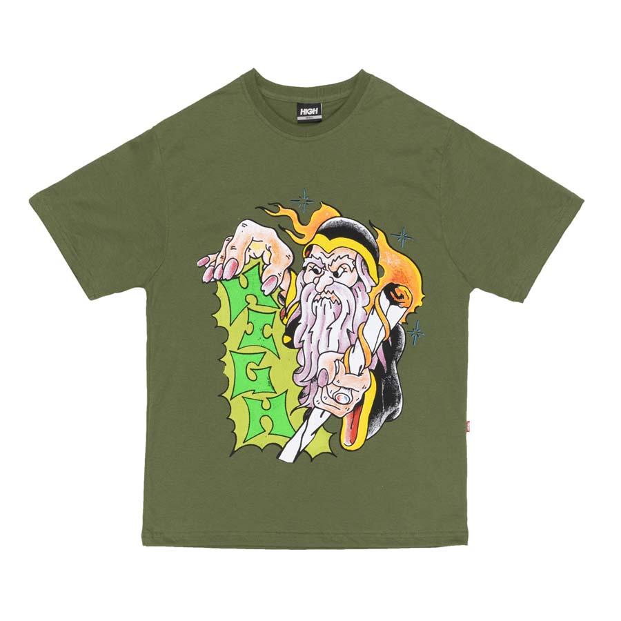 Camiseta High Tee Mage Night Green