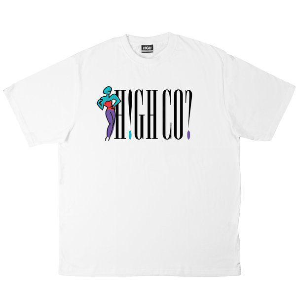 Camiseta HIGH Tee Marks White