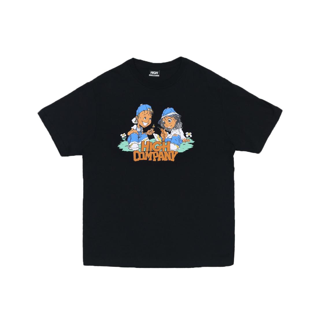 Camiseta High Tee Menace Black
