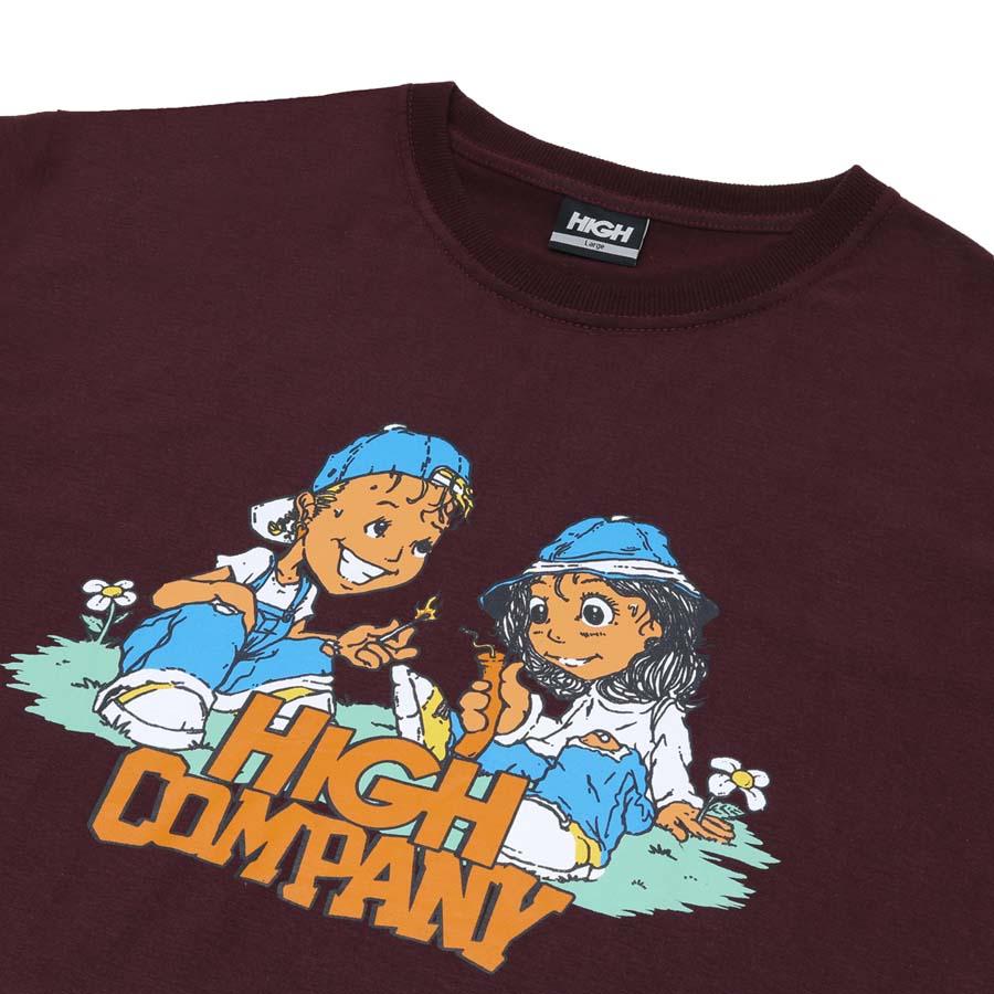 Camiseta High Tee Menace Brown