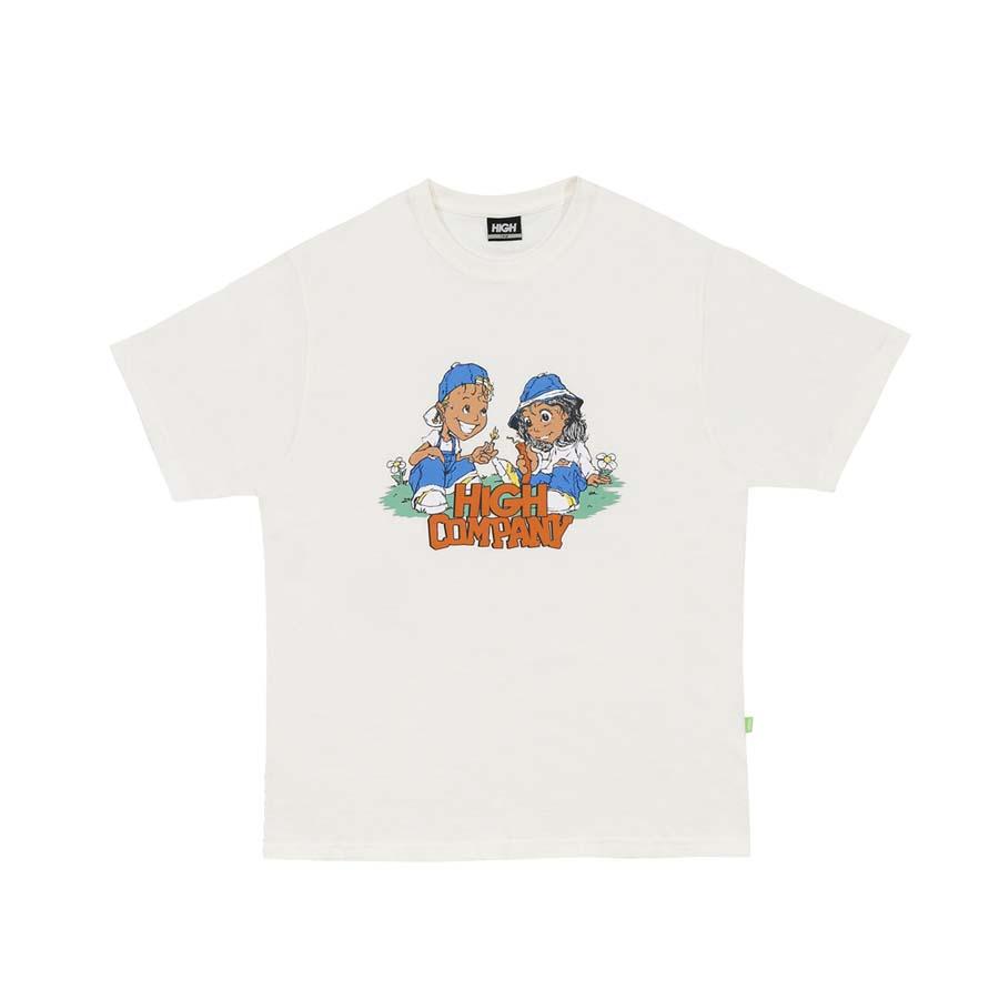 Camiseta High Tee Menace White